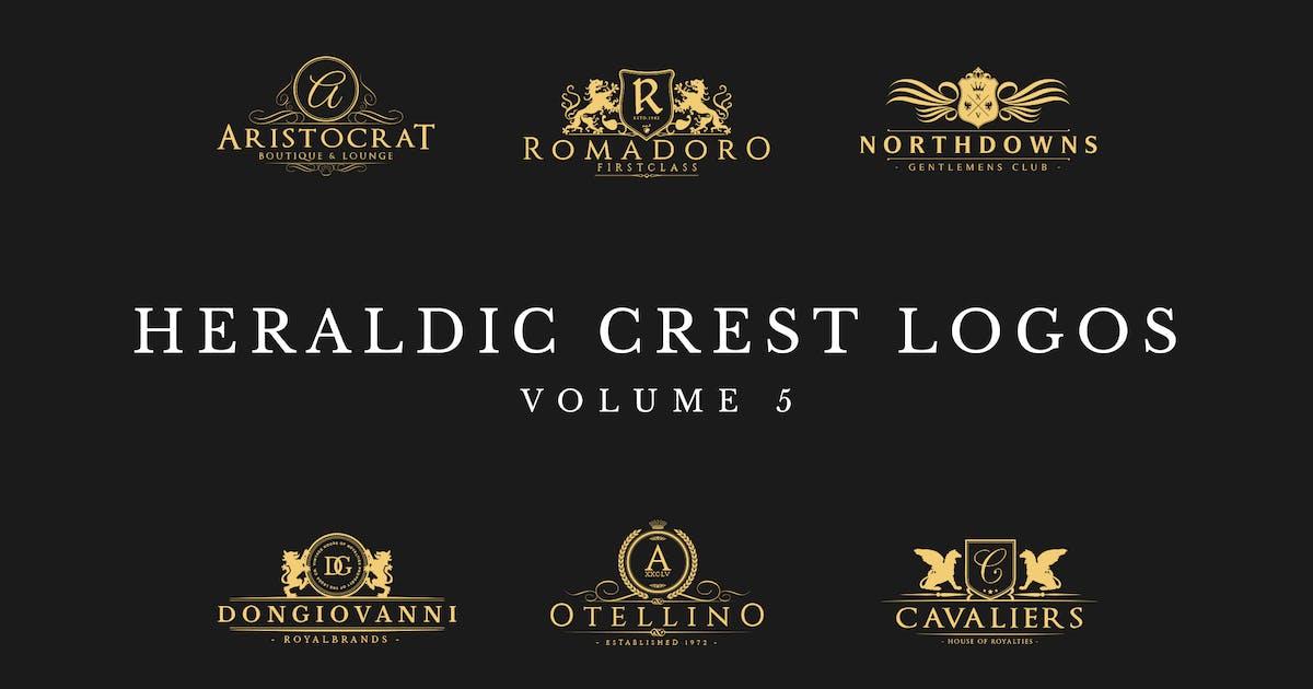 Download Heraldic Crest Logos Vol.5 by Zeppelin_Graphics