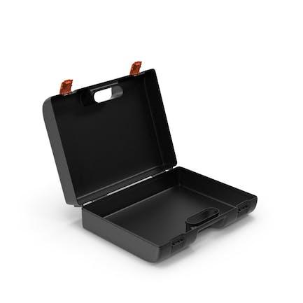 Plastic Suitcase Open