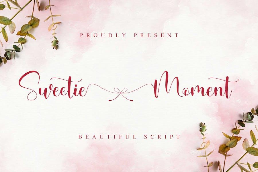 Sweetie Moment - Beautiful Script
