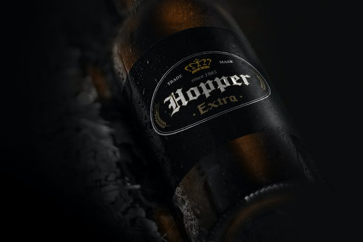 Thumbnail for 9 Premium Beer Labels V2