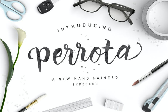 Thumbnail for Perrota Typeface