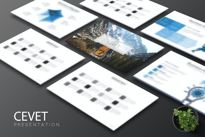 Thumbnail for Cevet - Keynote Template
