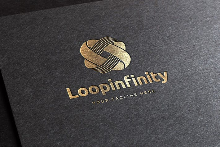 Cover Image For Loop Infinity Logo Template