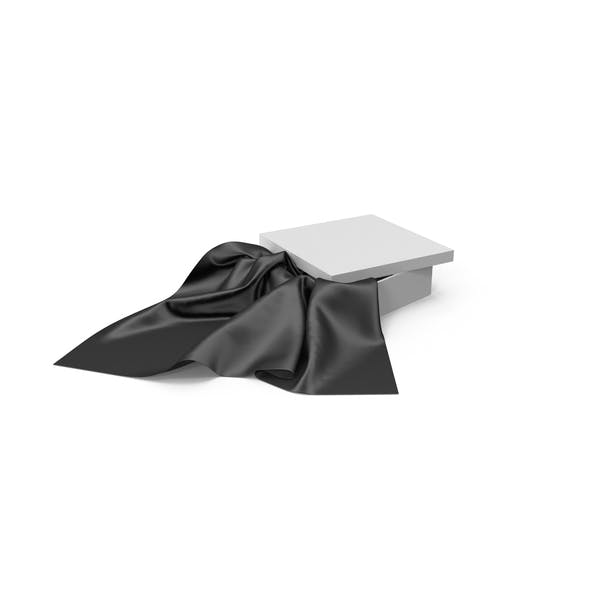 Cover Image for Black Silk With White Box
