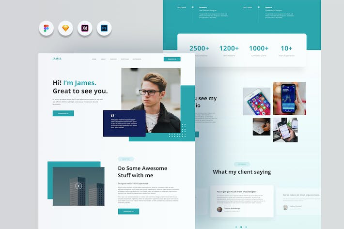 Thumbnail for Joyboy - Personal Website Template