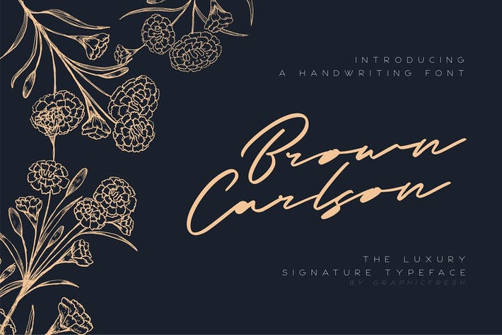 Thumbnail for Brown Carlson - The Luxury Signature