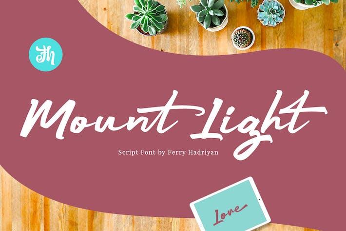 Mount Light - Police de script