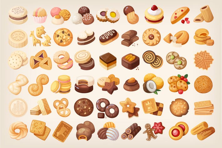 Thumbnail for Big Set of Cookies and Biscuits