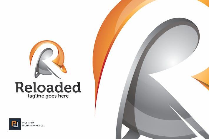 Thumbnail for Reloaded / Letter R - Logo Template
