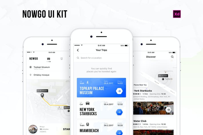 Thumbnail for Nowgo UI Kit