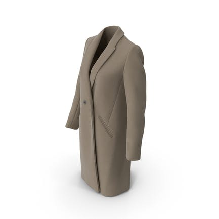 Damen Mantel Beige