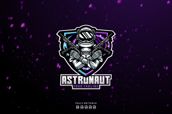 Thumbnail for Astronaut War Esport Logo