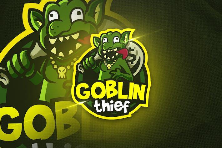 Thumbnail for Goblin Thief - Mascot & Esport Logo