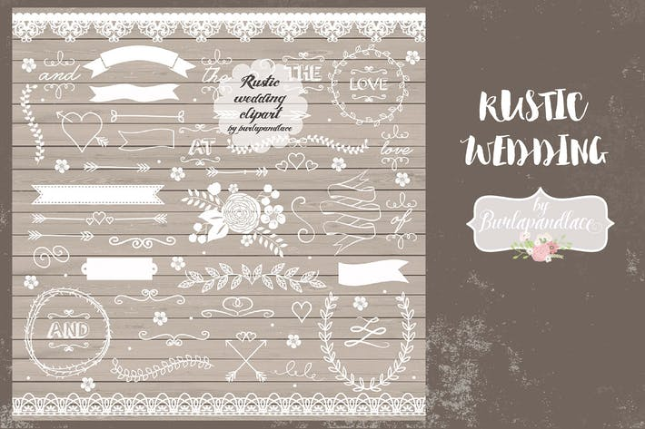 Thumbnail for Rustic wedding elements