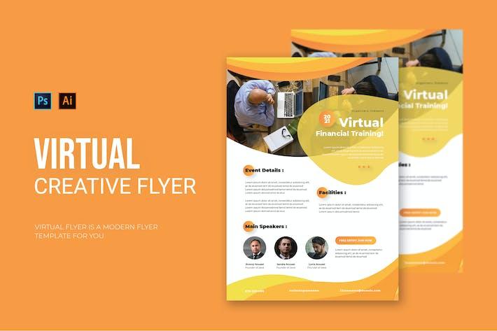 Virtual Financial - Flyer