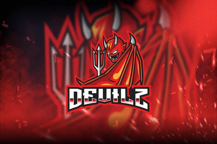 Thumbnail for Devilz Esport Logo Template