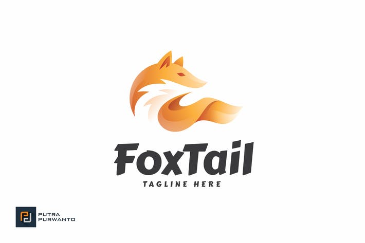 Thumbnail for Fox Tail - Logo Template