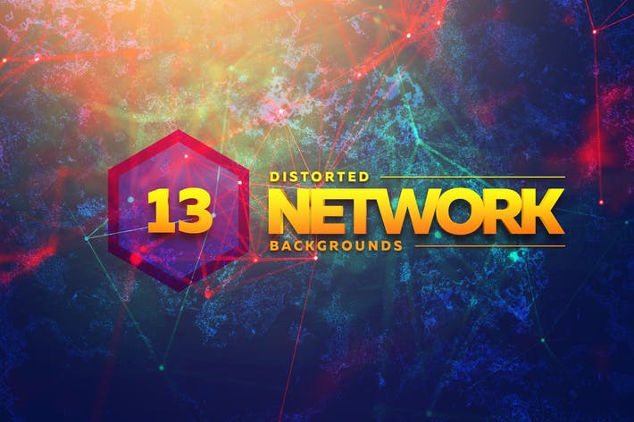 Thumbnail for Distorted Network Backgrounds