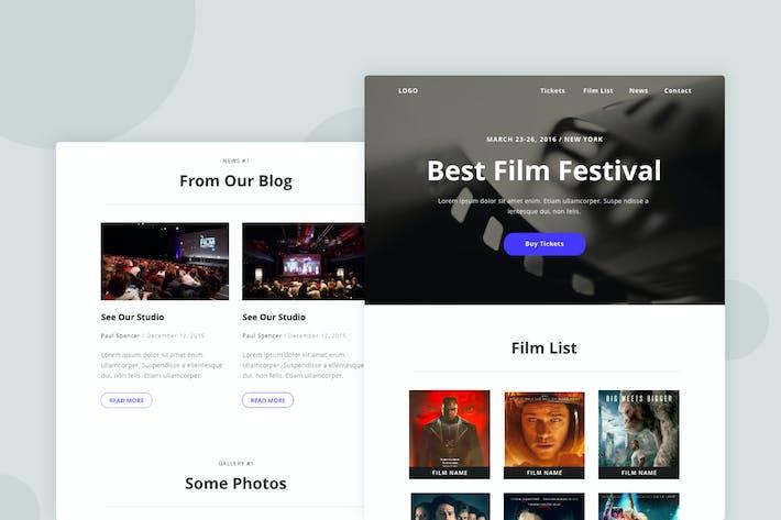 Thumbnail for Film Festival - Email Newsletter