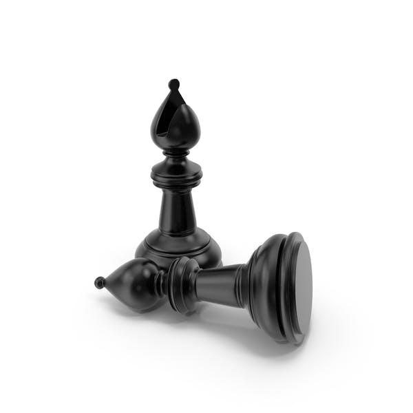 Chess Bishop Black