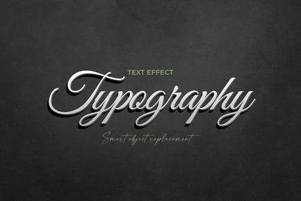 Typography Text Effect