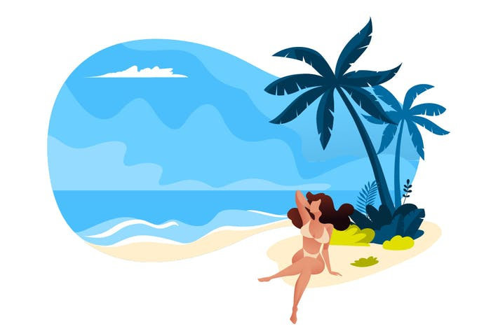 Thumbnail for Summer vector illustration