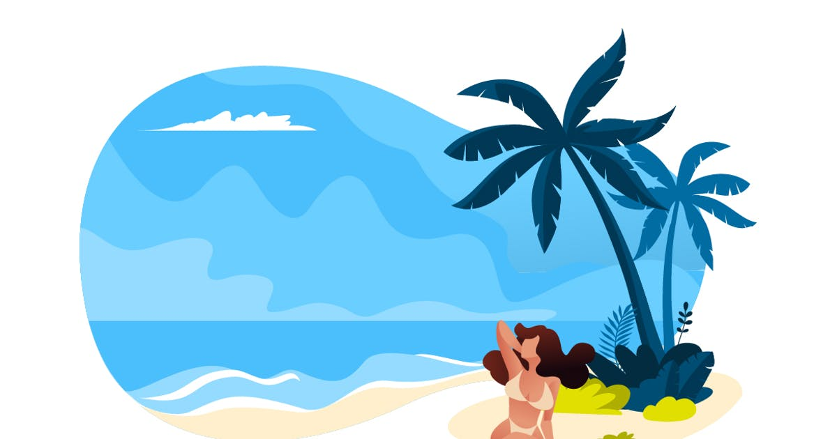 Download Summer vector illustration by PureSolution