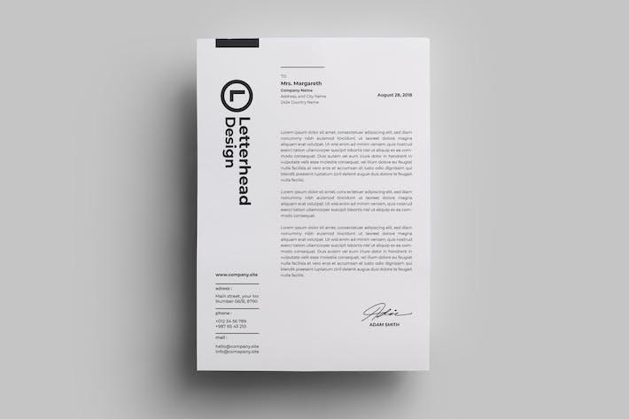 Thumbnail for Letterhead Design.06