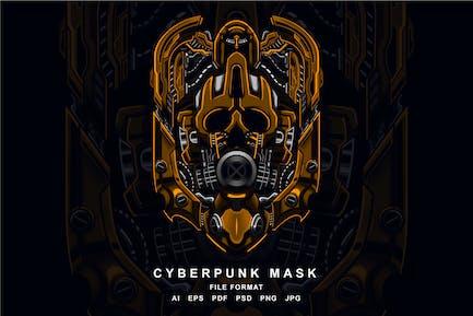 Cyberpunk-Maske