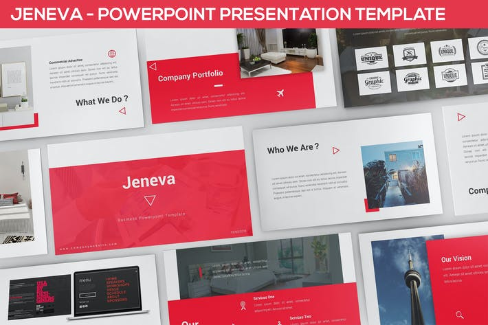 Thumbnail for Jeneva - Powerpoint Presentation Template