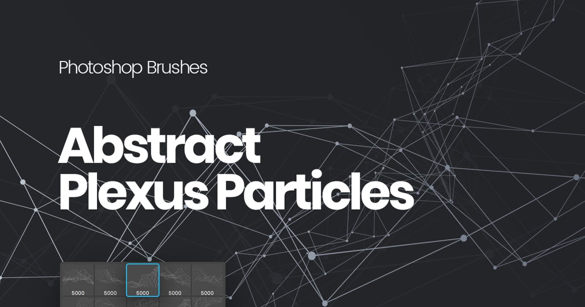 Download Abstract Plexus Particles Photoshop Brushes by themefire