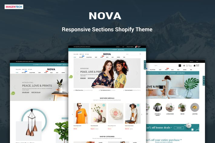 Thumbnail for Nova - Drag & Drop Shopify Responsive Theme