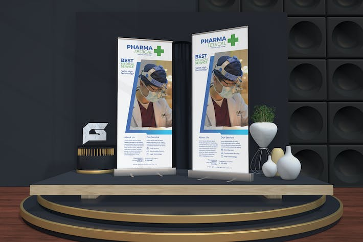 Thumbnail for Pharma Teuical - Medical Roll Up Banner