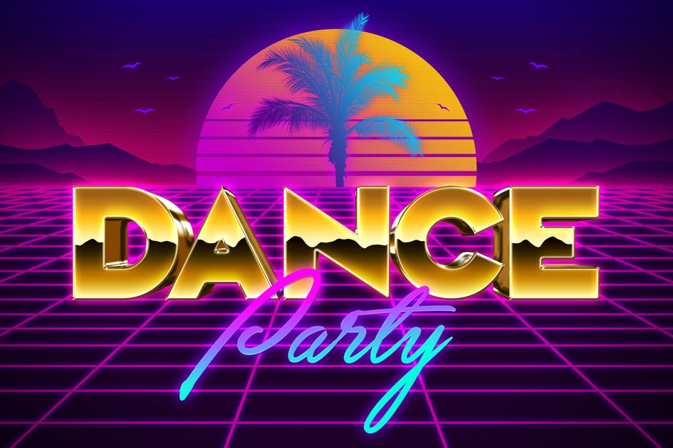 Download 80s Text Effects Vol. 2 by HyperPix