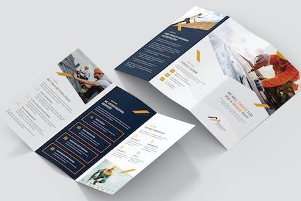 Brochure – Roofer Tri-Fold