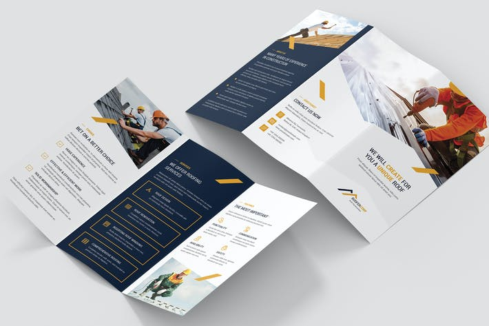 Thumbnail for Brochure – Roofer Tri-Fold
