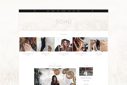 SOHO - Thème du blog