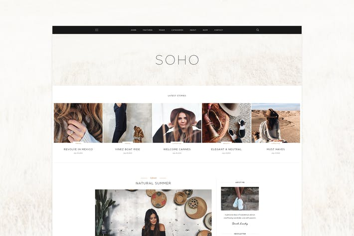 Thumbnail for SOHO - Blog Theme