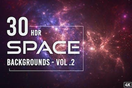 30 HDR-Weltraum-Hintergründe - Band 2