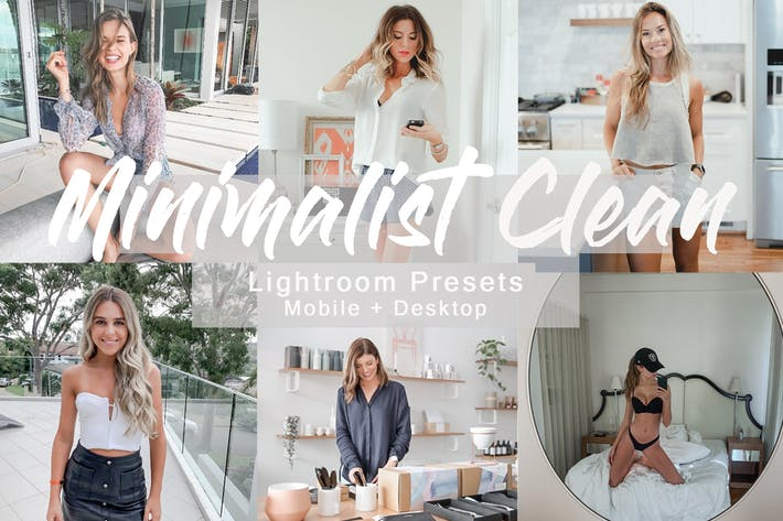 Cover Image For Minimalist Clean -  Lightroom Presets Pack
