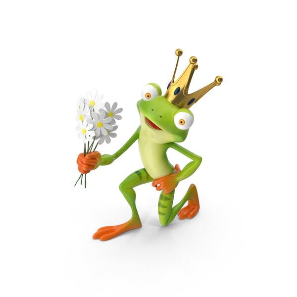 Cover Image for Cartoon Frog Prince
