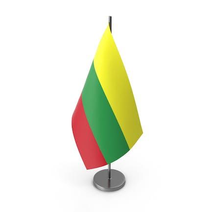 Tischflagge Litauen