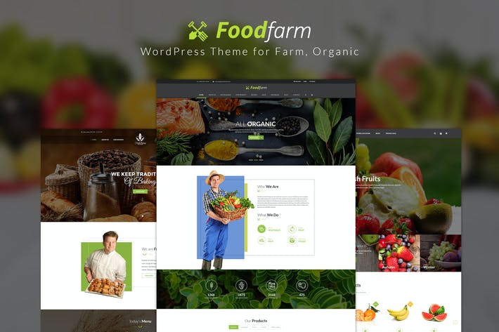 Thumbnail for FoodFarm – WordPress Theme for Farm, Organic