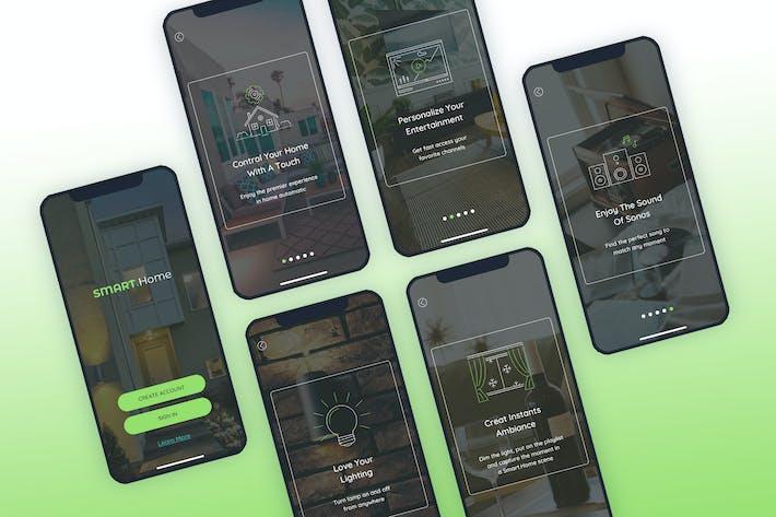 Launch Screen  Walkthroughs Mobile Ui - FP