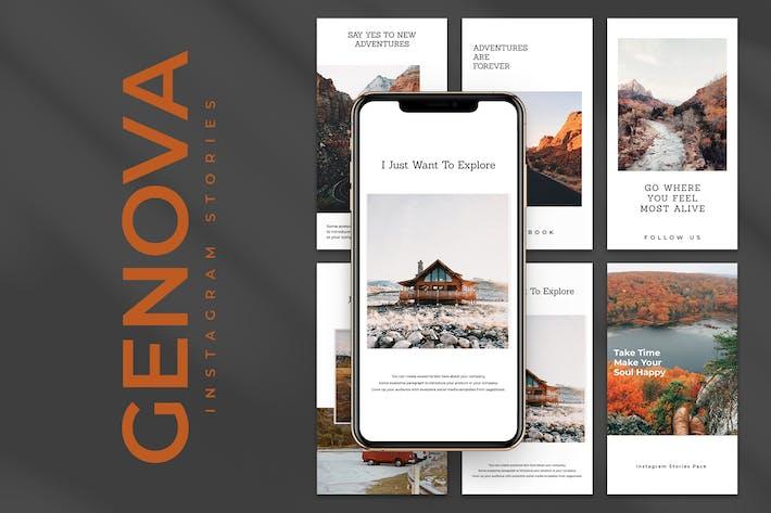Thumbnail for Genova Instagram Stories