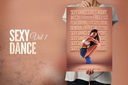 Sexy Dance Flyer