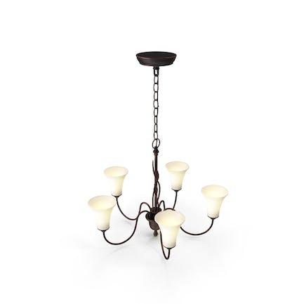 Lámpara de techo tradicional