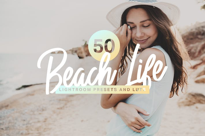 Thumbnail for 50 Beach Life Lightroom Mobile and Desktop Presets