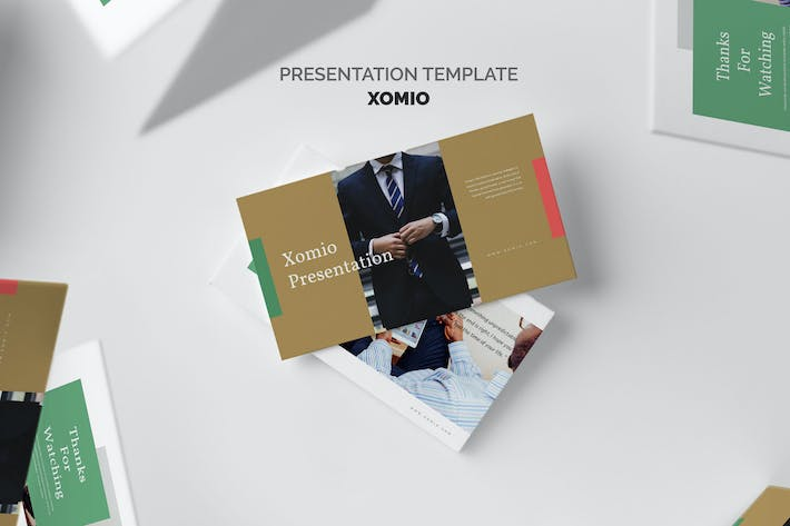 Thumbnail for Xomio : Business Report Google Slides