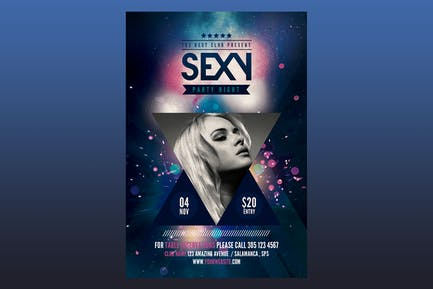 Sexy Party Flyer Poster
